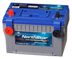 AGM car battery