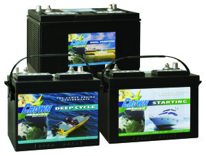 Marine Batteries Cutaway